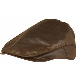 Jack Pyke Wax Flat Cap (Brown)