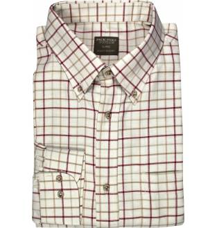 Jack Pyke Countryman Check Shirt (Burgundy)