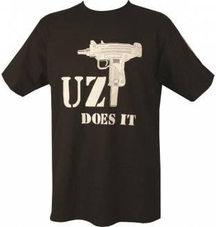 Kombat Tactical Uzi Does It T-Shirt