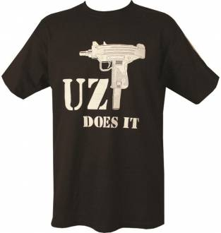 Kombat Tactical Uzi Does It T-Shirt