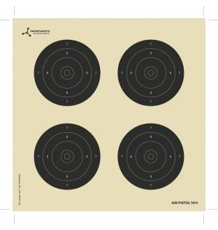 Flip Targets 10M Card Air Rifle Targets (250)