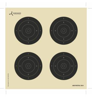 Flip Targets 10M Card Air Rifle Targets (50)