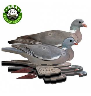 NRA FUD Wood PIgeon Decoy (6 pack)