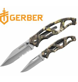 Gerber Mossy Oak Paraframe Hunting Knife Combo