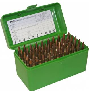 MTM Case-Gard RL50 Ammo Box Green