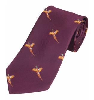 Jack Pyke Pheasant Tie (Wine/Purple)