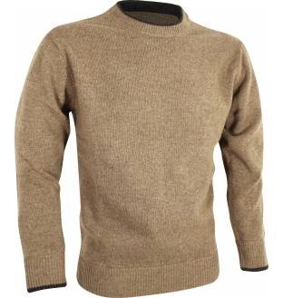 Jack Pyke Ashcombe Crew Knit Pullover in Barley