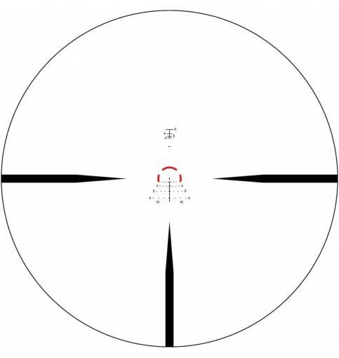 Vortex Strike Eagle 2.0 1-6x24 Illuminated SFP AR-BDC3 MOA Rifle Scope