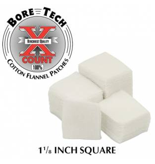 "Bore Tech PATCH, 1 1/8"", SQUARE, 250/BAG"
