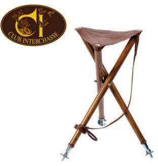 Club Interchasse Wooden Tripod seat (Arthy)