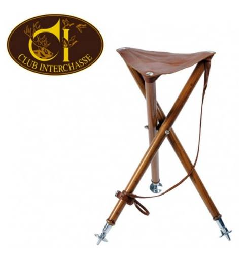 Club Interchasse Wooden Tripod seat (Arthy)