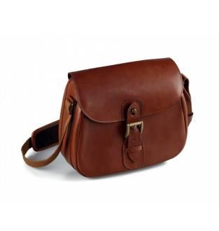 Riserva Brown Leather Cartridge Bag