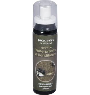 Jack Pyke Suede and Nubuck Waterproof Spray & Conditioner 75ml