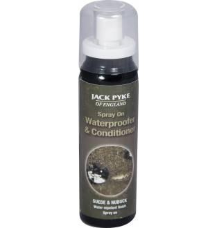 Jack Pyke Suede and Nubuck Waterproof Spray & Conditioner 75ml