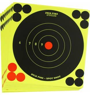 """Jack Pyke 6"""" Spot Shot Target (10 Pack)"""
