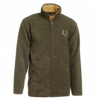 Chevalier Mainstone Fleece Cardigan Green