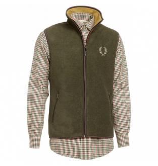 Chevalier Mainstone Fleece Waistcoat Green