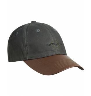 Chevalier Oiler Cap Faux-Leather Brim