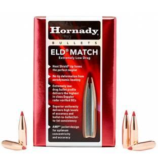 """Hornady ELD Match 6.5mm/.264"""" 123gr BT (100/500)"""