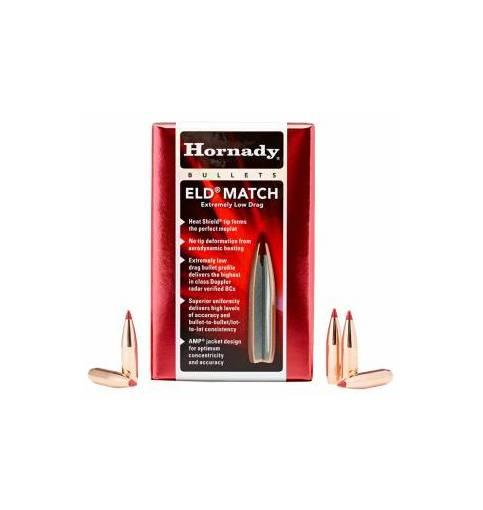 """Hornady ELD Match 6.5mm/.264"""" 130gr BT (Box of 100)"""