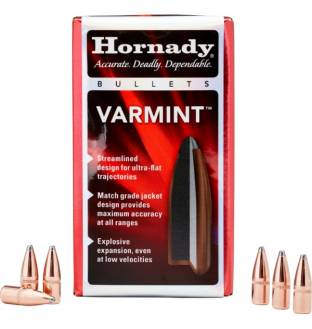 "Hornady Varmint 30/.308"" 130gr Spire Point (Box of 100)"
