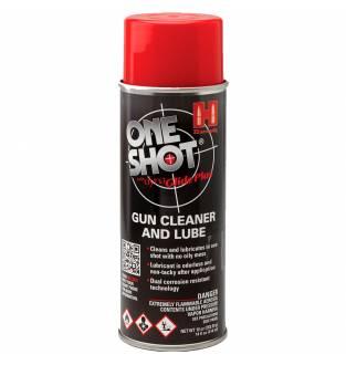 Hornady One Shot Gun Cleaner & Dry Lube Aerosol 5oz