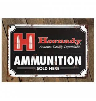 Hornady Decorative Ammo Tin Sign