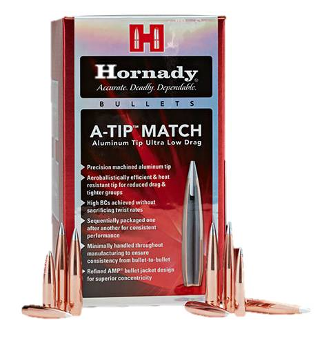 "Hornady  A-Tip Match 6.5mm/.264"" 135gr (Box of 100)"