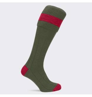 Pennine Byron Olive Ruby Sock