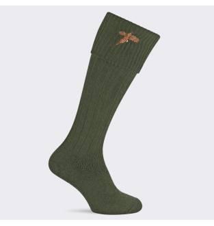 Pennine Stalker Olive Pheasant Sock
