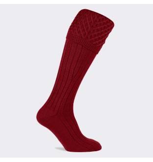Pennine Chelsea Deep Red Sock