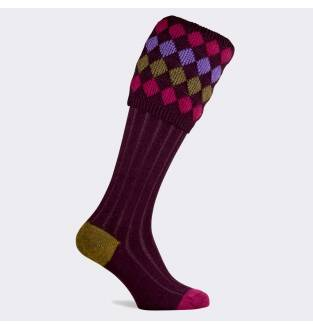 Pennine Kendal Luxe Plum Sock