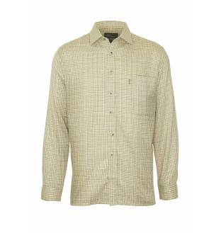Champion Fine Check Beige Cartmel Tattershall Shirt
