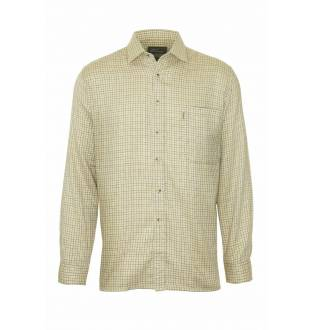 Champion Fine Check Beige Cartmel Tattershall Shirt
