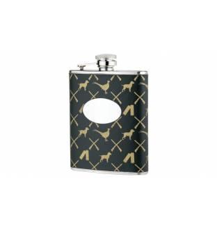 Bisley 6oz Game Pattern Flask