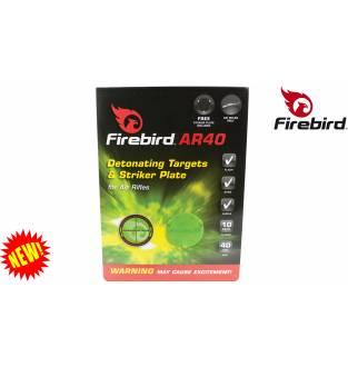 Firebird AR 40 Air Rifle Targets Blister Card of 10 Targets