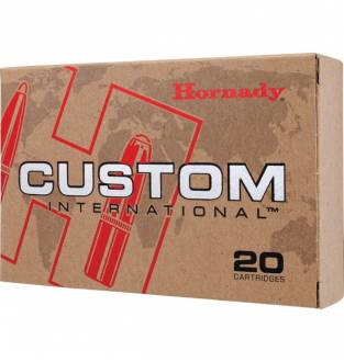 Hornady Custom International .30-06 Sprg 220gr RN InterLock (Box of 20)