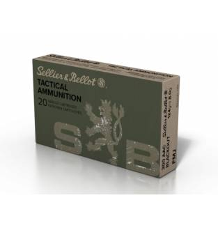 Sellier & Bellot .300 AAC Blackout 124gr FMJ (Box of 20)