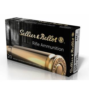 Sellier & Bellot .308 Win 147gr FMJ (Box of 20)