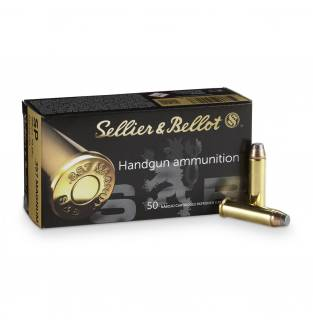 Sellier & Bellot .357 Mag 158gr JSP (Box of 50)