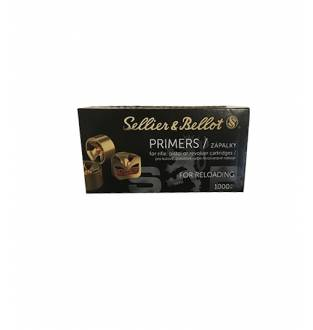 Sellier & Bellot Primer, Small Rifle, 4.4 (Box of 1000)