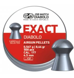 JSB Diabolo Exact 177 / 4.52 8.44gr (PE74.52)