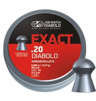 JSB Diabolo Exact 20 / 5.10 / 13.73gr (PE25.1)