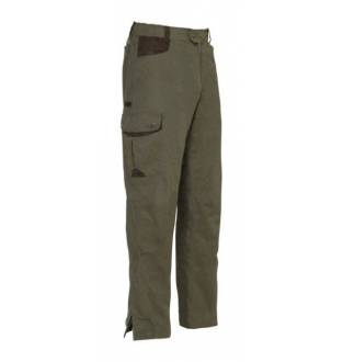 PERCUSSION NORMANDIE TAPERED HUNTING TROUSERS IN KHAKI