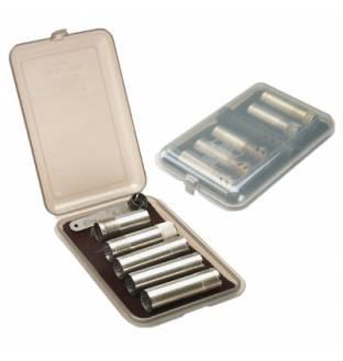 MTM Case-Gard CT6 Choke Tube Case Clear Smoke
