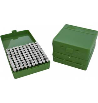 MTM Case-Gard P1003 Pistol Ammo Box Green