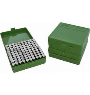 MTM Case-Gard P1009 Pistol Ammo Box Green