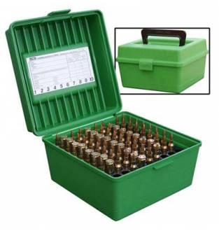 MTM Case-Gard R100MAG Deluxe Ammo Box Green