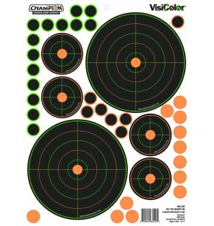 Champion Visicolor 50 Yd Sight-in 5 Pack, Card
