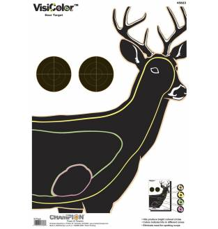 Champion Visicolor Deer Target 10 Pack, Card